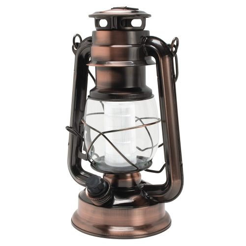 Northpoint Vintage Style Copper Hurricane Lantern