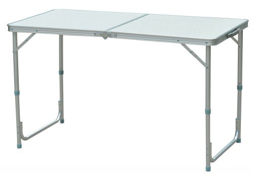 Outsunny Aluminum Camping Folding Camp Table