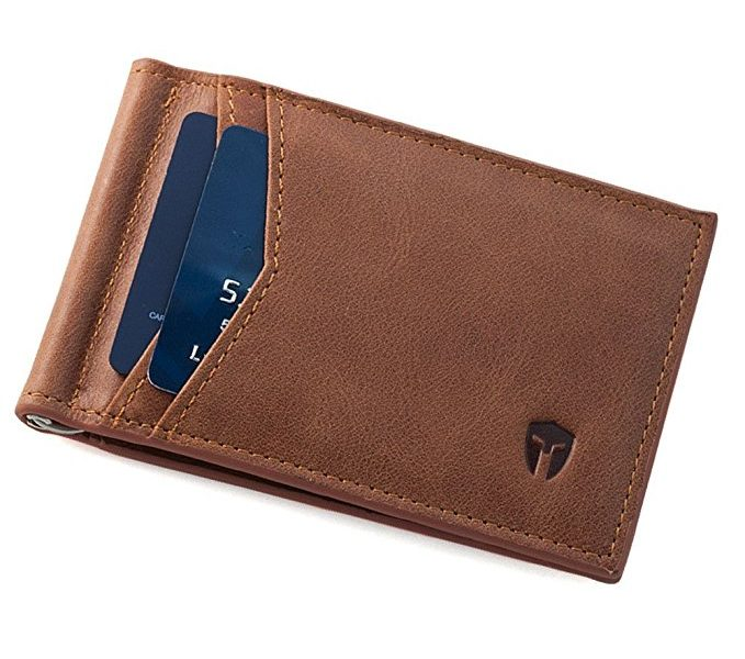 RFID Blocking Slim Minimalist Front Pocket Wallet