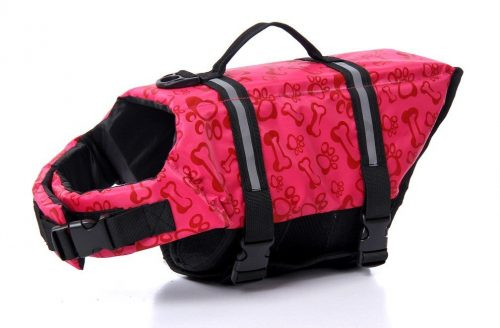 Surblue Dog Life Vest Jacket,Pet Doggy Safety Coat for Swimming,Boating
