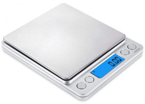 AMIR Digital Kitchen Scale, 500g/ 0.01g Mini Pocket Jewelry Scale