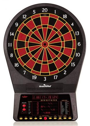 Arachnid Cricket Pro 800 Electronic Dartboard with NylonTough Segments for Improved Durability