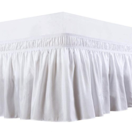 Biscaynebay Wrap Around Bed Skirt