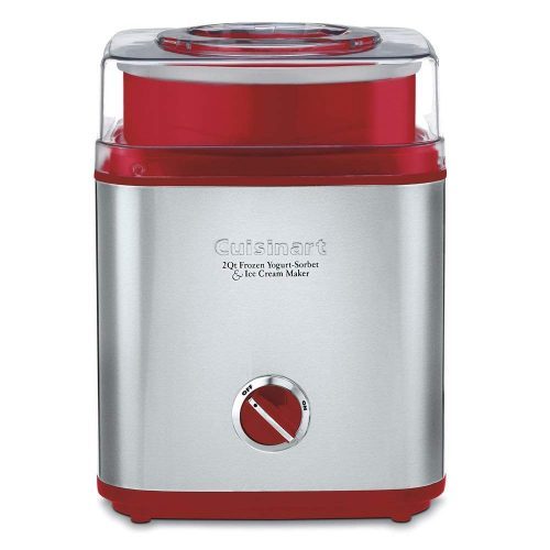 Cuisinart ICE-30R Pure Indulgence Frozen Yogurt Sorbet & Ice Cream Maker, 2 quart