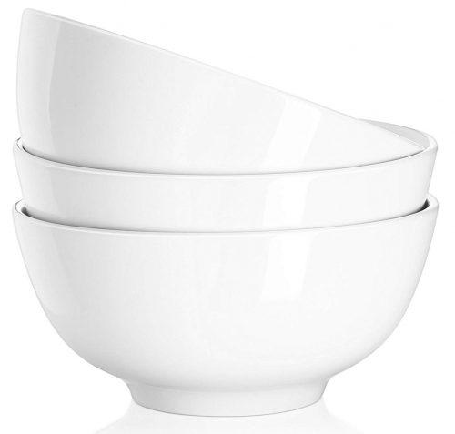 DOWAN 29 Ounce Porcelain Soup Bowls