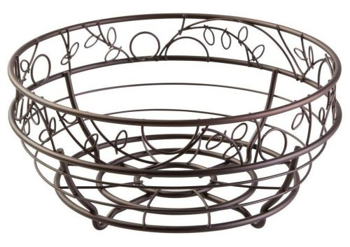 InterDesign Twigz Fruit Bowl – Wire Fruit Basket for Kitchen Tables