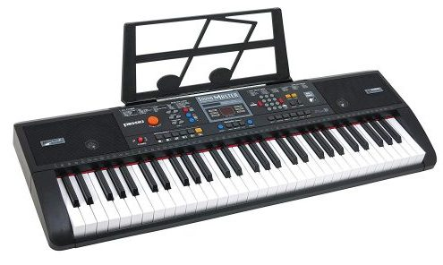 Plixio 61 Key Electric Music Keyboard Piano with USB & MP3 Input- Portable Electric Piano