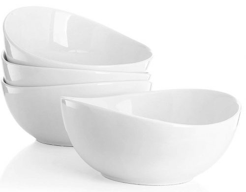 Sweese 1104 Porcelain Bowls - Set of 4-28 Ounce