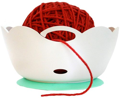 Yarn Bowl by Yarn Valet - Portable, Unbreakable