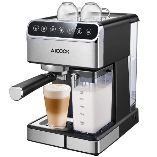 AICOOK Espresso Machine, Barista Espresso Coffee Maker