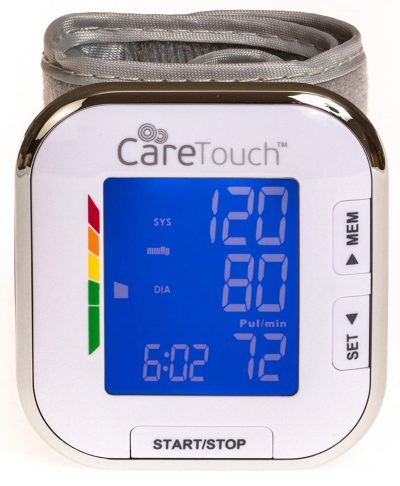 Care Touch Fully Automatic Wrist Blood Pressure Cuff Monitor-Wrist Blood Pressure Monitors