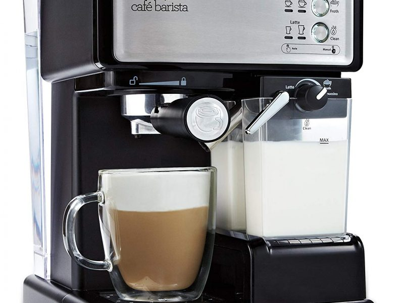 Mr. Coffee Cafe Barista Espresso and Cappuccino Maker