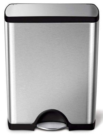 simplehuman 50 Liter / 13.2 Gallon Stainless Steel