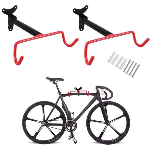 PHUNAYA Bike Hanger 2pcs Wall Mount Bike Hook