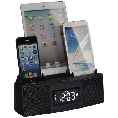 3 Port Smart Phone Charger with Speaker Phone