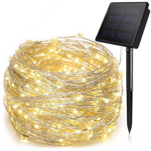 ANTOOR Solar String Lights 72ft 200LED Outdoor String Lights