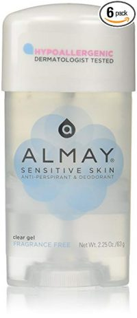 Almay Sensitive skin Clear Gel