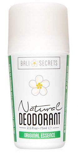 Bali Secrets Natural Deodorant - Organic & Vegan