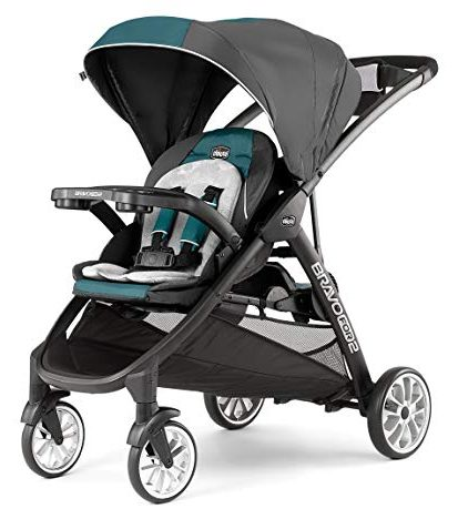 Chicco BravoFor2 LE Standing/Sitting Double Stroller