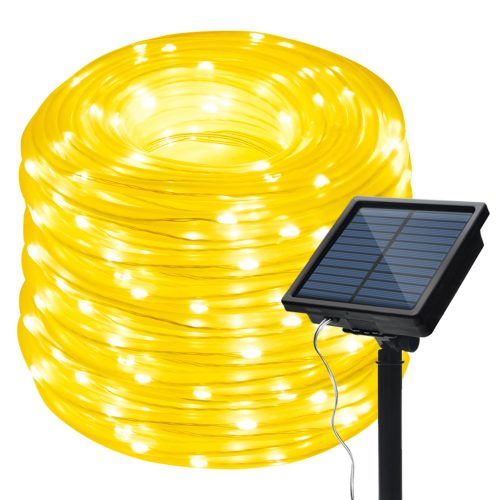IMAGE 8 Modes Solar Rope String Lights