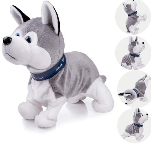 Interactive Puppy Plush Animated Pet Electronic Dog Cute Robot Dog Baby