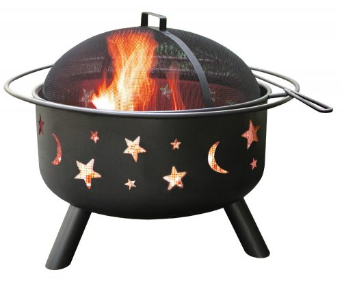 Landmann 28345 Big Sky Stars and Moons Firepit