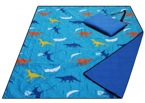 Large Waterproof Sand proof Beach Blanket Machine Washable Picnic Blanket,79x57 inches Light Weight,Ground