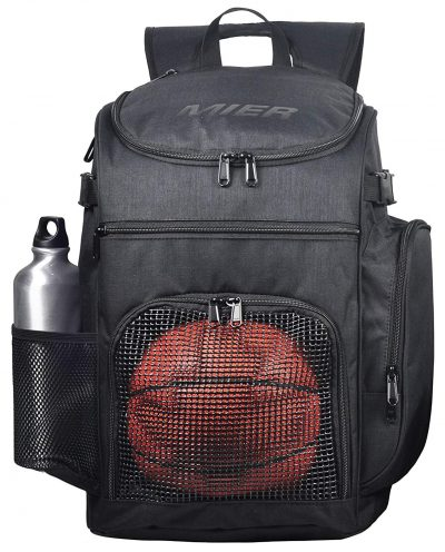 MIER Basketball Backpack Large Sports Bag for Men Women