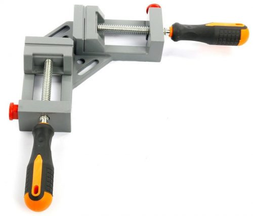 NUZAMAS 90 Degree Corner Clamp Right Angle Clamp Aluminum Alloy Made