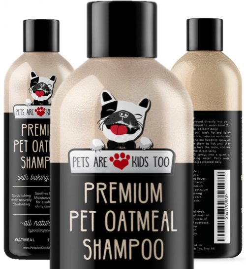Pet Oatmeal Anti-Itch Shampoo & Conditioner In One