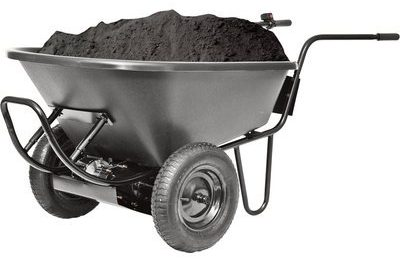Power Assist Wheelbarrow