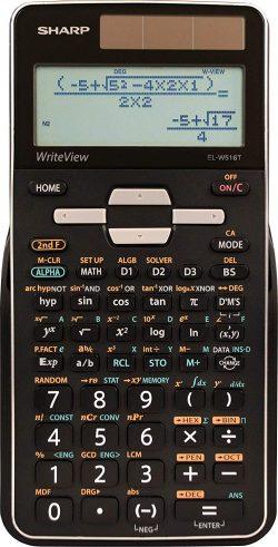 Sharp Calculators EL-W516TBSL Advanced Scientific Calculator