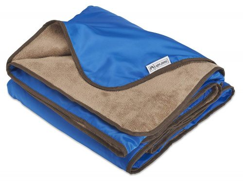 XL Plush Fleece Outdoor Stadium Rainproof and Windproof Picnic Blanket - Camp Blanket