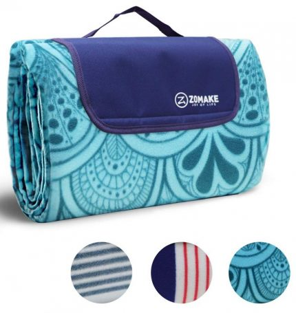ZOMAKE Picnic Blanket Waterproof Extra Large, Outdoor Blanket