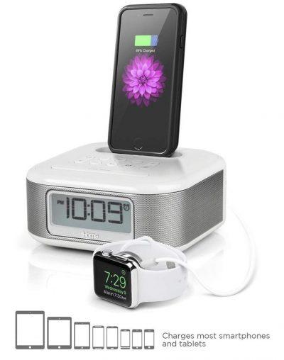 iHome iPL23 Alarm Clock FM Radio