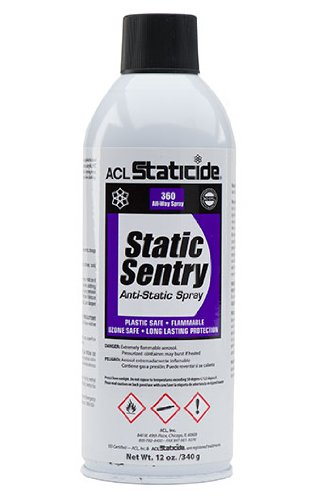 ACL Staticide 2006 Static Sentry, Aerosol, 12 oz., White