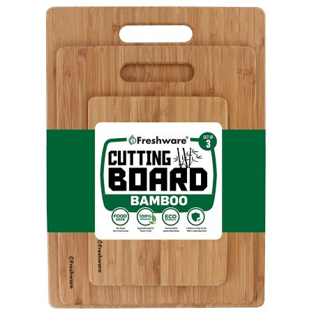 Freshware Bamboo Cutting Board
