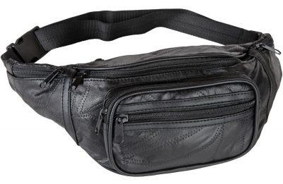 Home-X Genuine Leather Lambskin Waist Bag