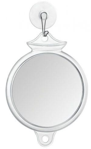 InterDesign Fog-Free Suction Shower Shaving, Fogless Mirror for Bathroom