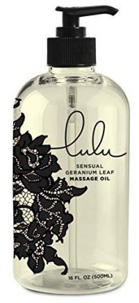 Lulu Massage Oil 16oz. for Luxurious Relaxing Body Massages