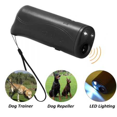 POVAD LED Ultrasonic Dog Repeller