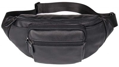 Polare Genuine Leather Fanny Pack/Waist Bag/Organizer