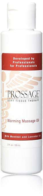 Prossage Heat Warming Relief Massage Oil