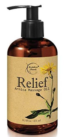 Relief Arnica Massage Oil-Warming Massage Oils