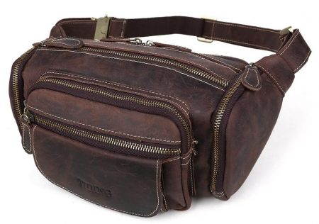 d3e9600b3c50 Top 12 Best Leather Fanny Packs in 2019 Reviews - DTOPLIST