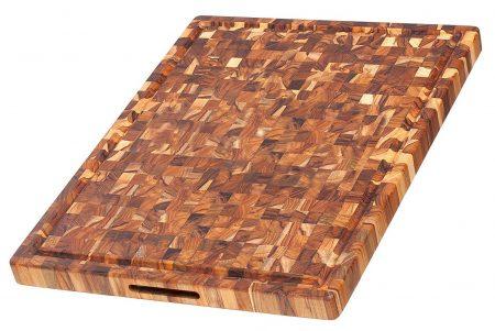 Teak Cutting Board - Rectangle Butcher Block