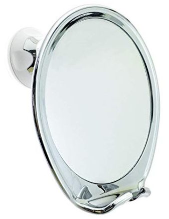 JiBen Fogless Shower Mirror with Power Locking Suction