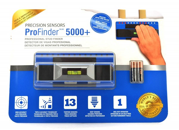 Precision Sensors Profinder 5000+ Deep Scanning Stud Finder