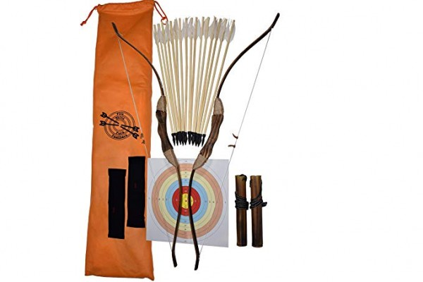 #10 FSFF Enhanced Wooden Bow and arrow for kids