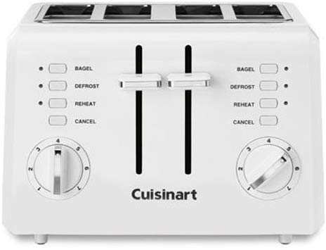 #1 Cuisinart C.P.T 142 Compact 4 Slice Toaster